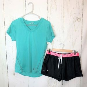 Under Armour Set Outfit Iso Chill Tape Shorts